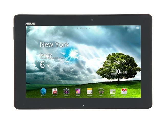 Refurbished: ASUS Transformer Pad TF300T Tablet - Blue NVIDIA Tegra 3 1.20GHz 10.1 inch Wide XGA 1GB DDR3 Memory 32GB Flash NVIDIA ULP GeForce