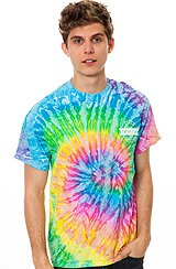 Twerk Team Tie Dye Shirt Rainbow
