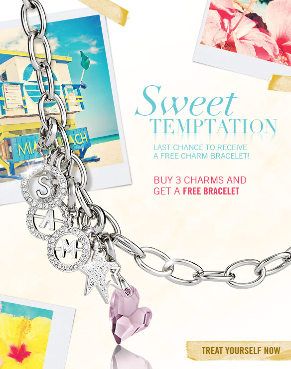 Buy 3 charms and get a free bracelet