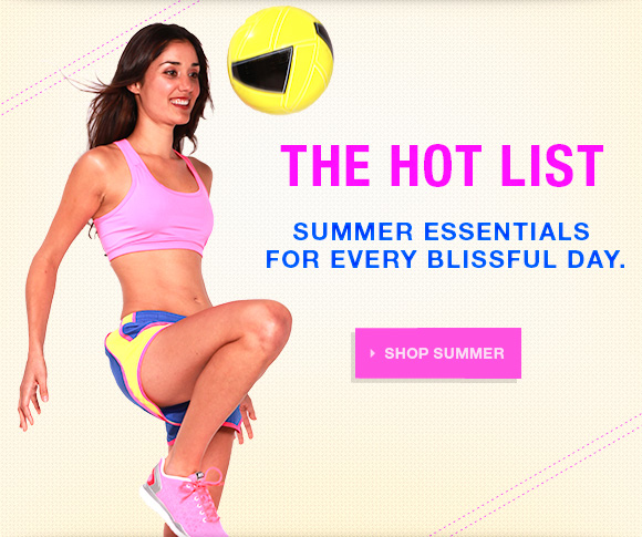 The hot list. Summer essentials for every blissful day.