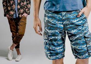 Shop Below the Waist: Pants & Shorts