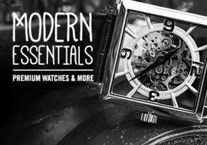 Shop Black Watches & Premium Accessories