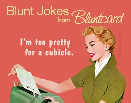 Blunt Jokes from Designer Bluntcard