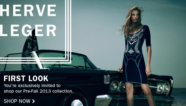 Be the first to shop our Pre-Fall 2013 collection.
