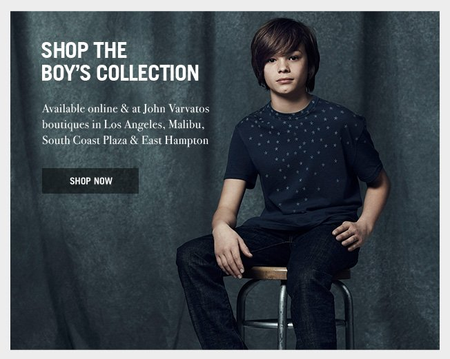Shop the Boy's Collection