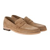 Taupe Max Loafers