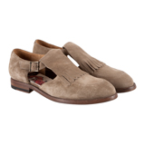 Taupe Bassie Shoes