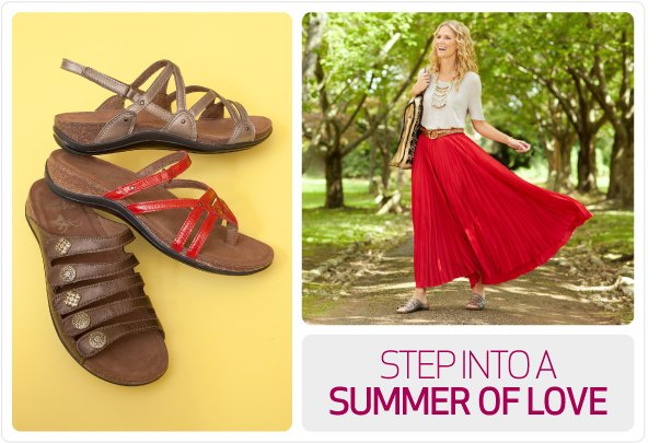 Step into a summer of love with the Vista Collection.
