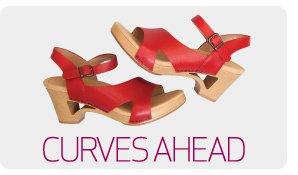 Curves ahead. Take the curves in Tasha Crimson.