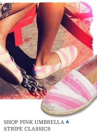Shop Pink Umbrella Stripe Classics