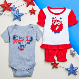 Littlest Patriots: Infant Apparel