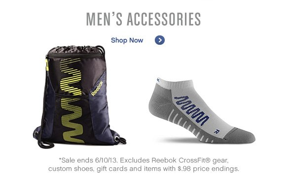 Men's Accessories Shop Now »