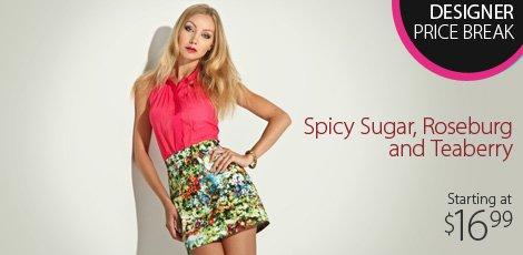 Spicy Sugar, Roseburg & Teaberry