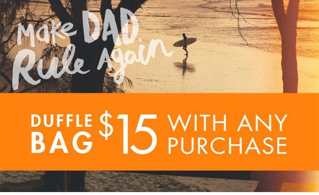 Cotton On Duffle bags $15 WAP