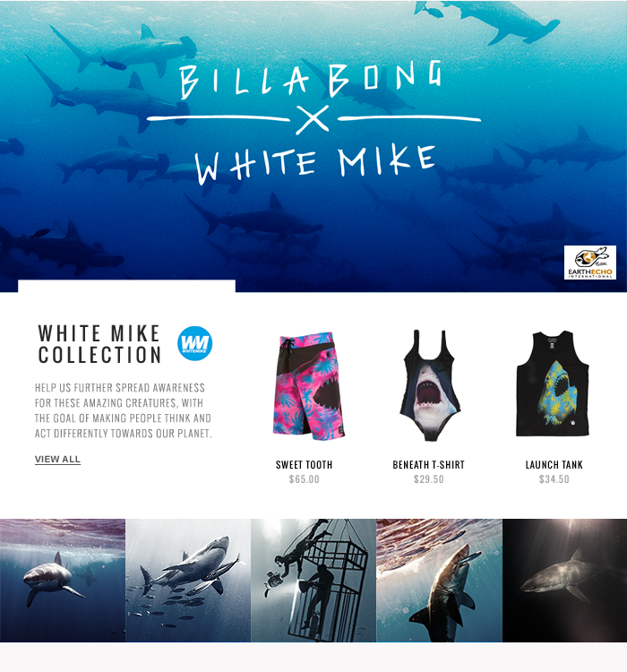 Billabong x White Mike