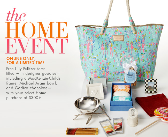 FREE Tote + Designer Goodies: The Home Event