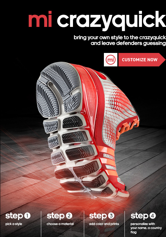 Create Your Own mi Crazyquick Basketball Shoes »