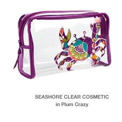 Seashore Clear Cosmetic in Plum Crazy