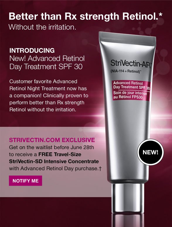 Better than Rx strength Retinol. Without the irritation.