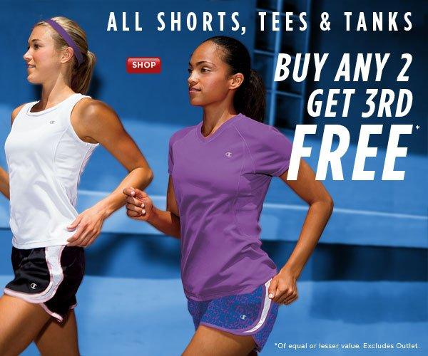 SHOP Women's Shorts, Tees & Tanks SALE!