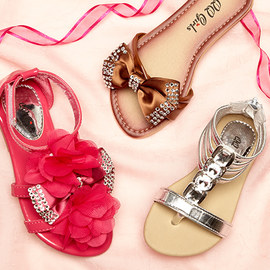 Stand-Out Steps: Girls' Sandals