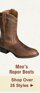 All Mens Roper Boots on Sale