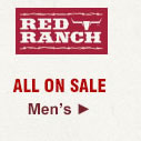 All Mens Red Ranch Boots on Sale