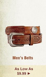 All Mens Belts on Sale