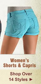 All Womens Shorts and Capris on Sale