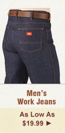 All Mens Work Jeans on Sale