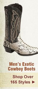 All Mens Exotic Boots on Sale