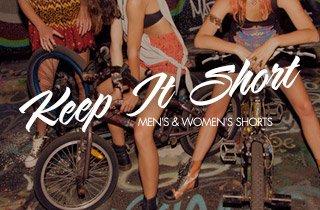 Mens & Women's Shorts