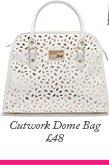 Cutwork Dome Bag