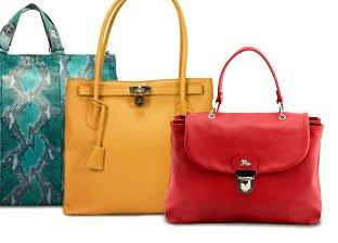 Jenrigo, Plinio Visona and Jacky & Celine Handbags