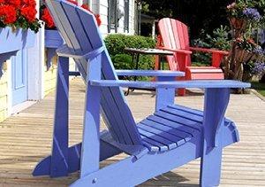 Outdoor Living: Modern Adirondack