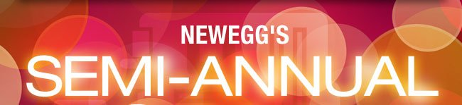 NEWEGG'S SEMI-ANNUAL SALE