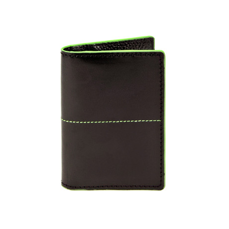 Thunderbird Folding Card Case // Black