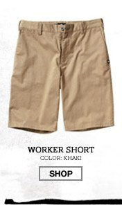 Worker Short - Color: Khaki - Shop