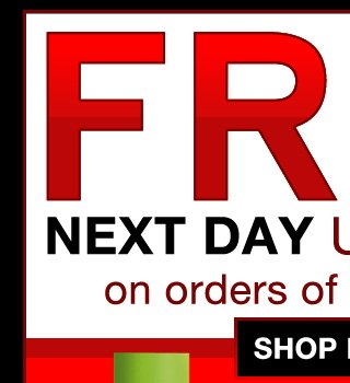 FREE U.S. NEXT DAY SHIPPING ON ORDERS OF $65 OR MORE!