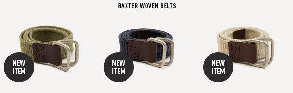 Baxter Woven Belts
