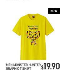 MEN MONSTER HUNTER T SHIRT