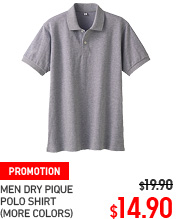 MEN DRY PIQUE POLO SHIRT