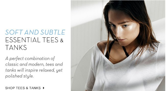 Essential Tees and Tanks