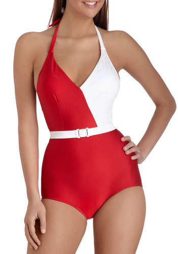 Splice of Life One Piece in Red