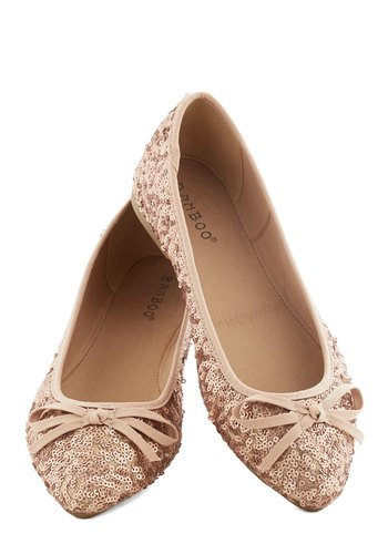 Go for the Rose Gold Flat