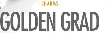 Charms - Golden Grad
