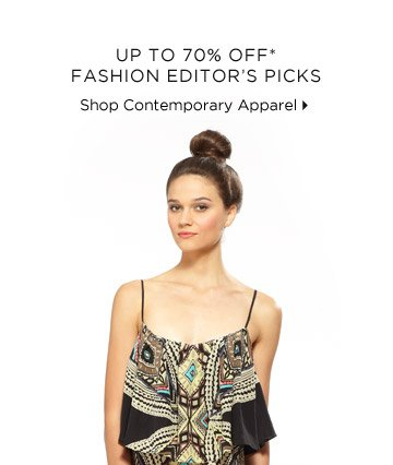 Up To 70% Off* Fashion Editor's Picks