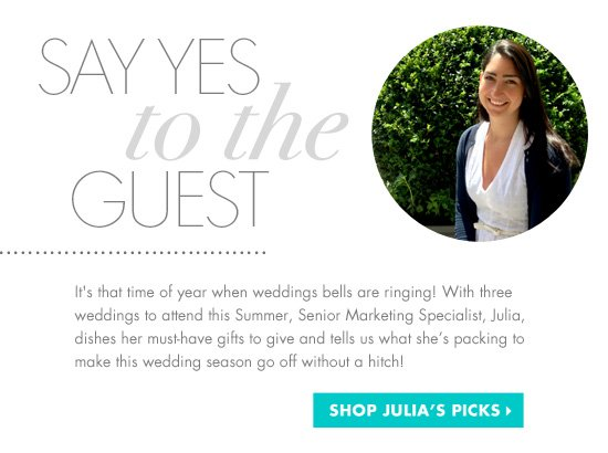 SAY YES TO THE GUEST