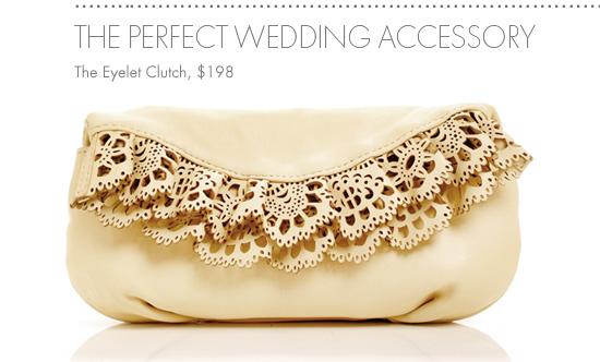 THE EYELET CLUTCH