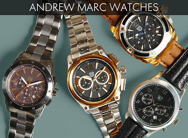 ANDREW MARC WATCHES